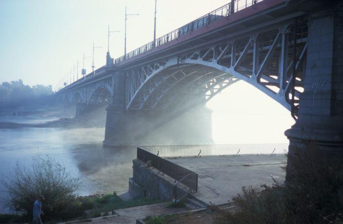 Most poniatowskiego ranek